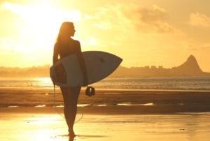 Summer Vacation Ideas Surfing
