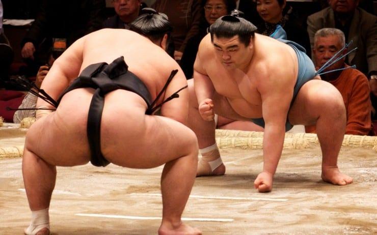 Tokyo Japan-sumo-match