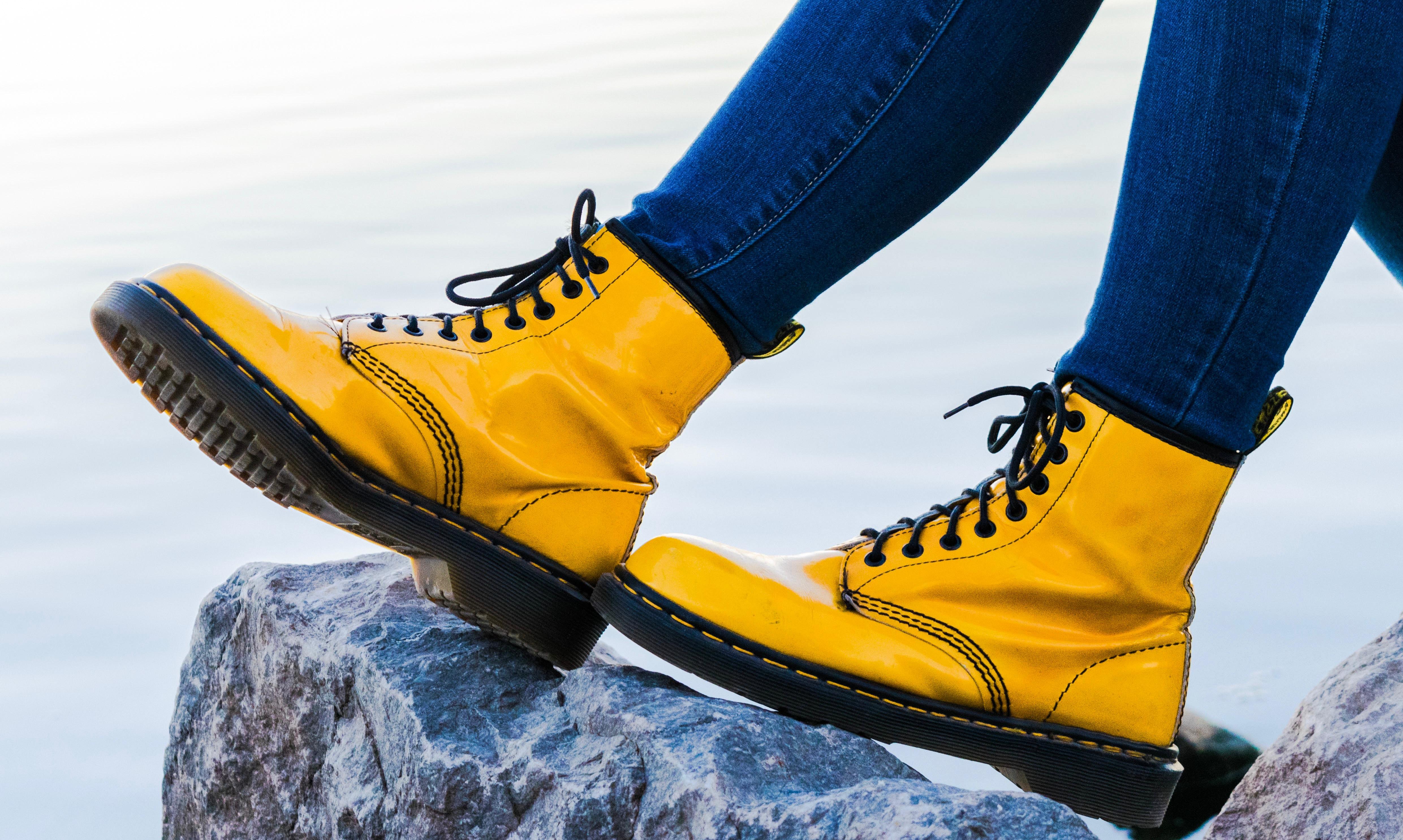 Travel Wardrobe Dr Marten Boots