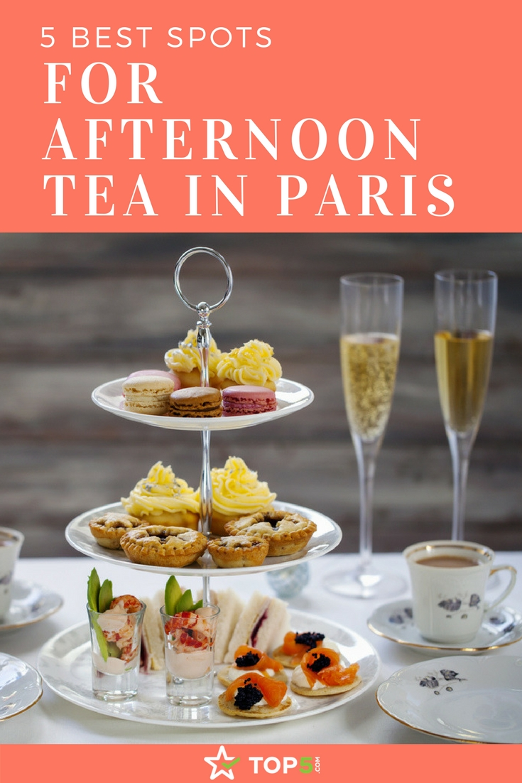 For Afternoon Tea In Paris
