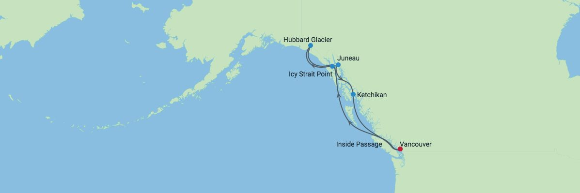 Alaska Cruise Hubbard Glacier