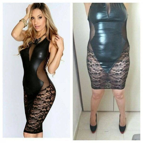 bad black bodycon