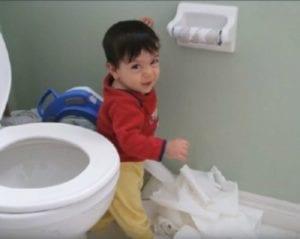 bad kids toilet paper roll