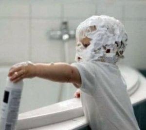 bad kids shaving cream