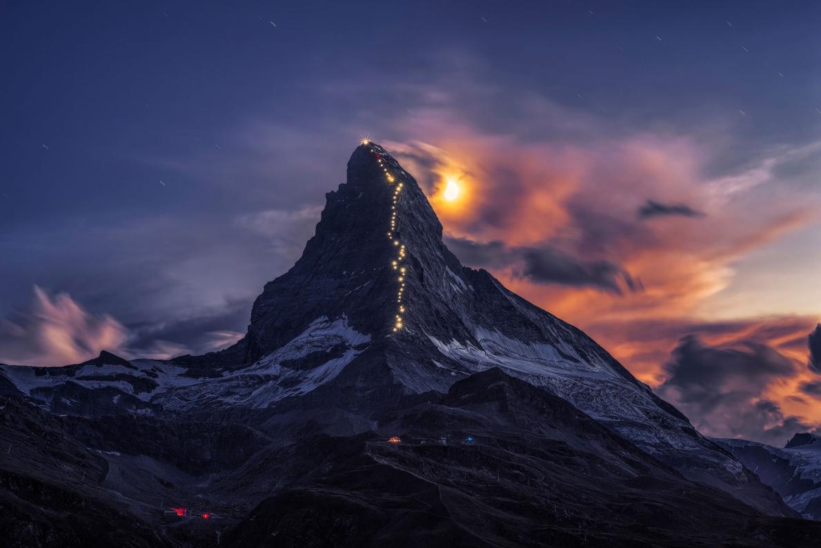 Beautiful mountain photo