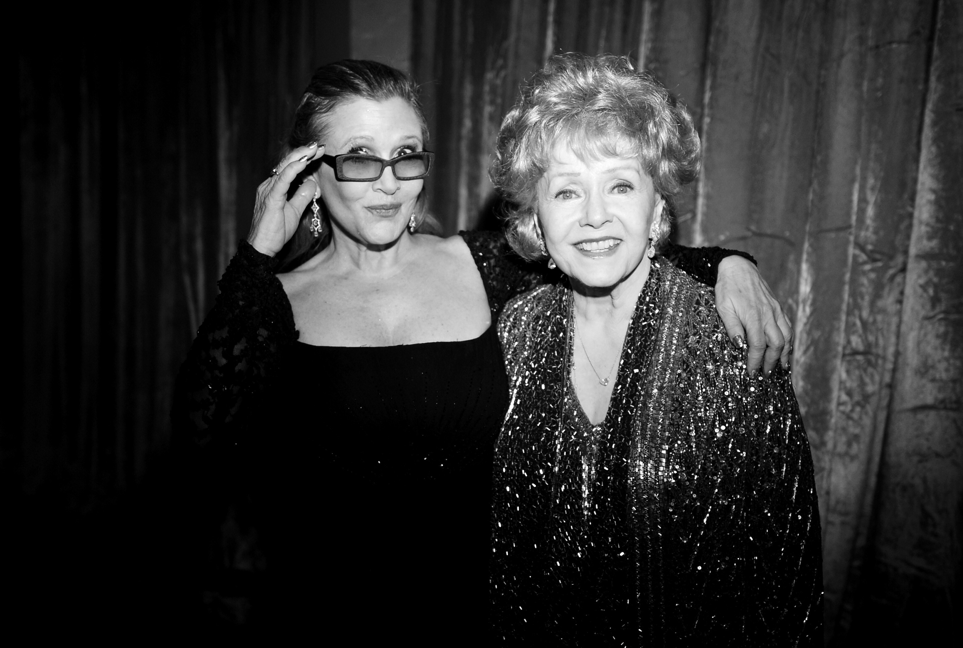carrie fisher and debbie reynolds celebrity mother and daughter