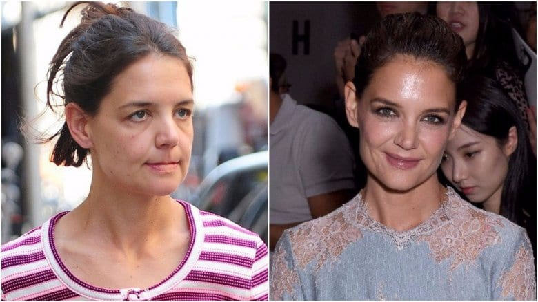 Celebrities Without Makeup Katie Holmes
