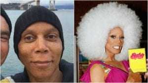 Celebrities Without Makeup RuPaul