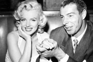 celebrity breakups Marilyn Monroe Joe DiMaggio