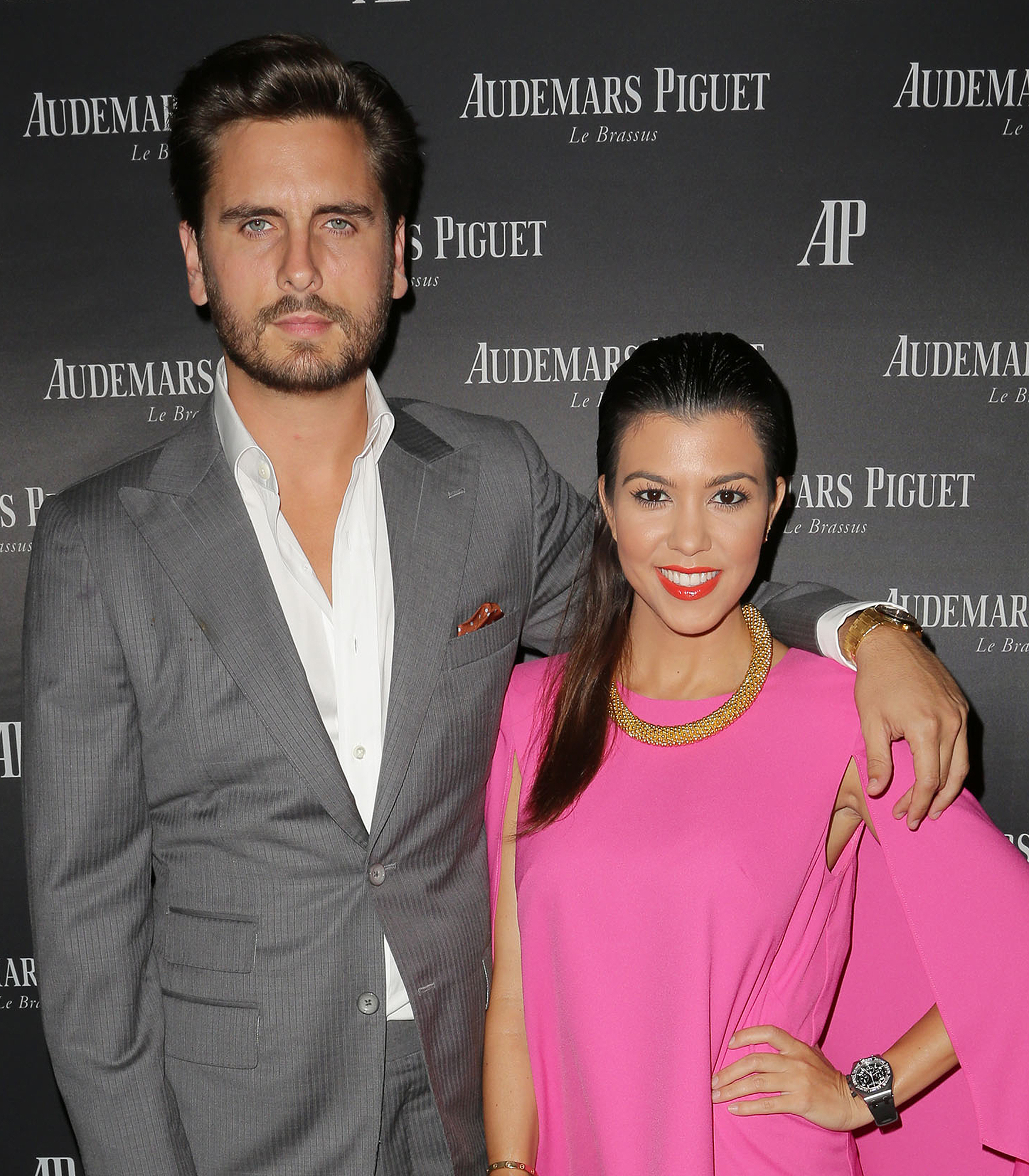 celebrity breakups Kourtney Kardashian Scott Disick
