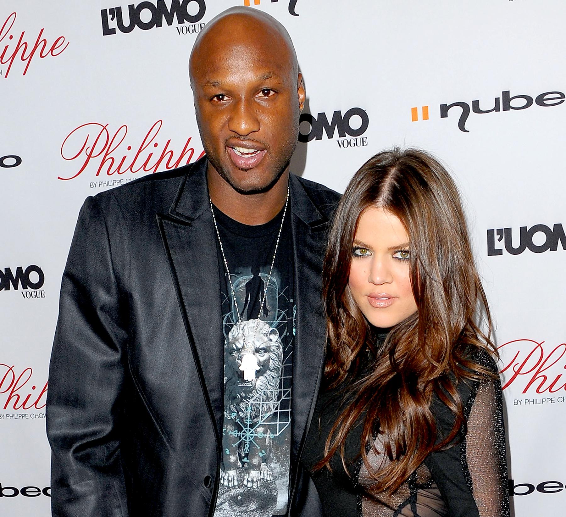 celebrity breakups Khloe Kardashian Lamar Odom