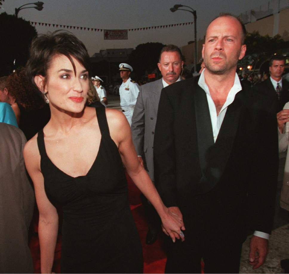 celebrity breakups Bruce Willis Demi Moore