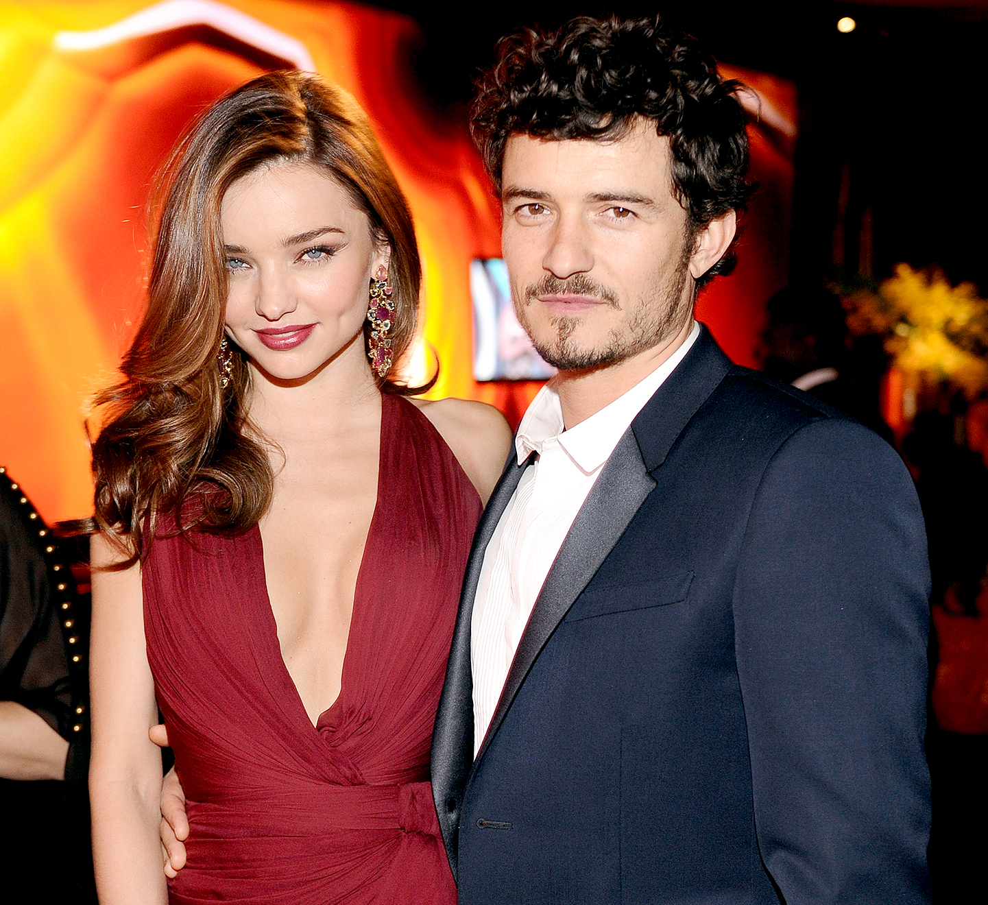 celebrity breakups Miranda Kerr and Orlando Bloom