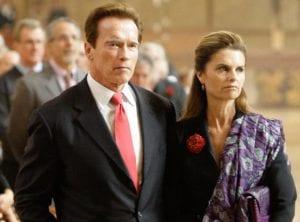 celebrity breakups Maria Shriver Arnold Schwarzenegger