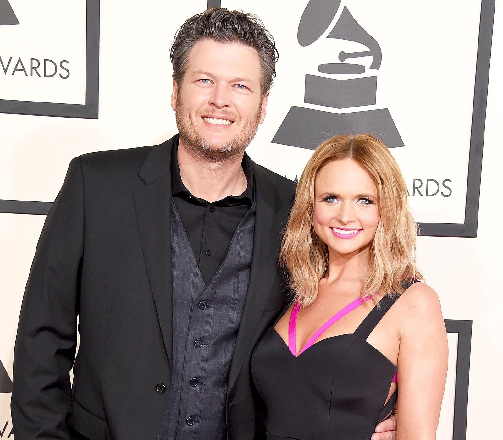celebrity breakups Blake Shelton Miranda Lambert