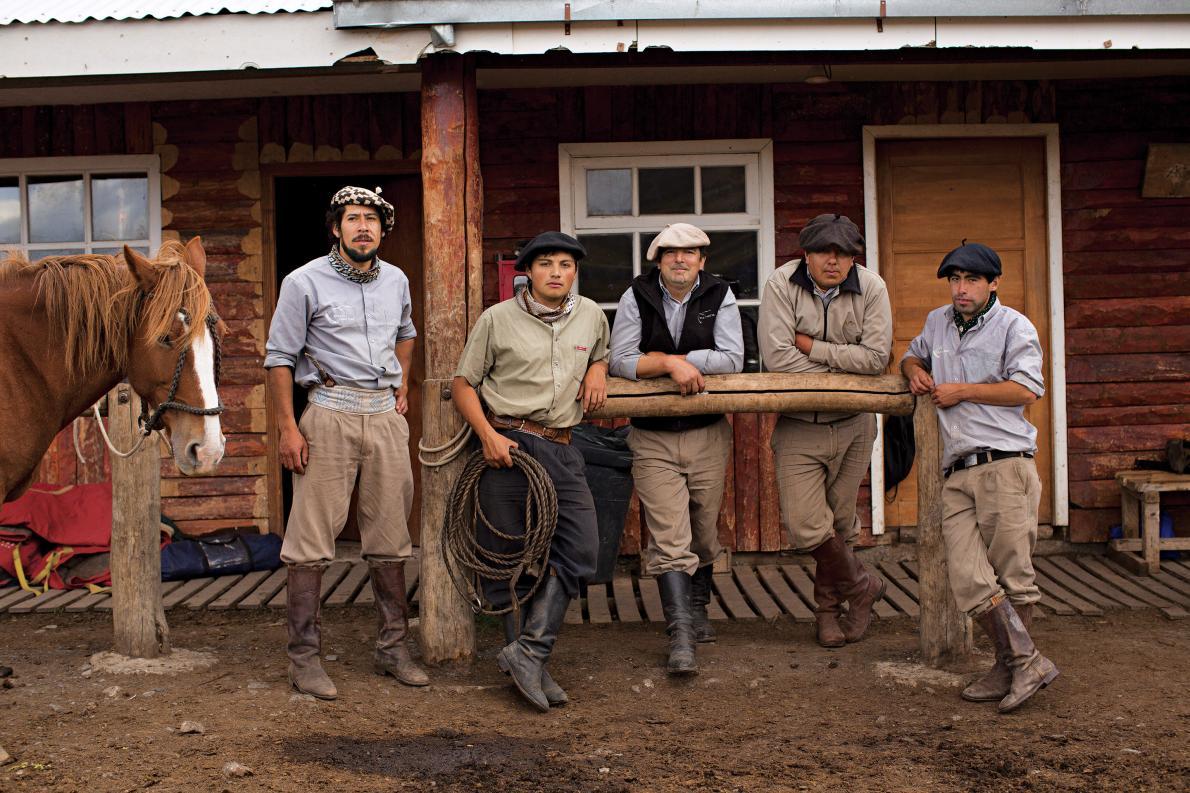 Chilean cowboys