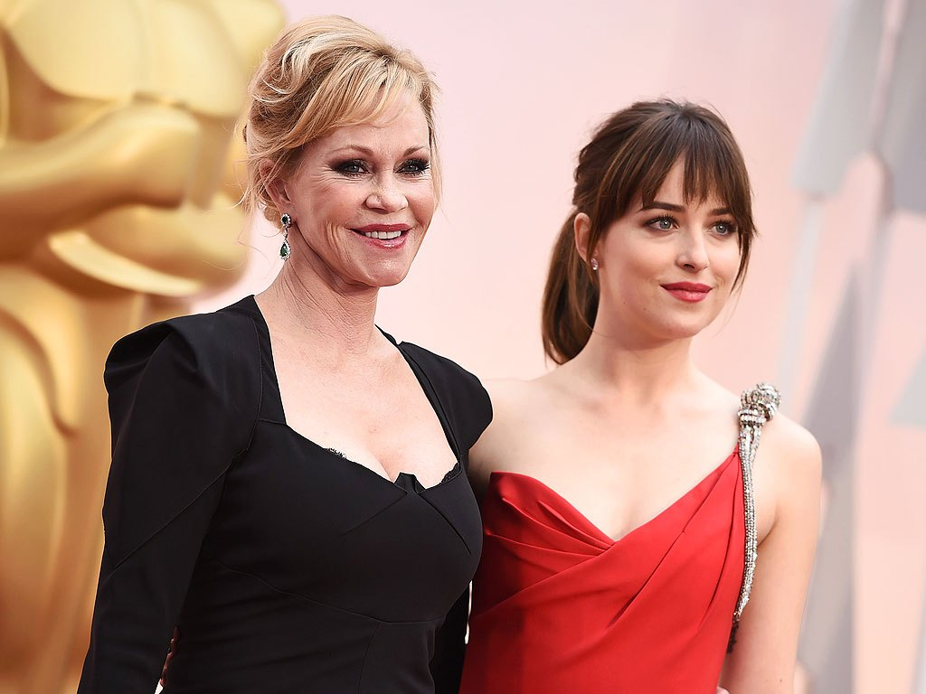 dakota johnson and melanie griffith celebrity mother and daughter