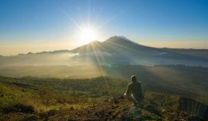 Destination hikes Mount Batur, Indonesia