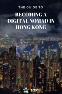 digital nomad in Hong Kong - Pinterest
