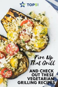 Vegetarian grilling recipes - Pinterest
