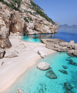 Europe beach in Italy