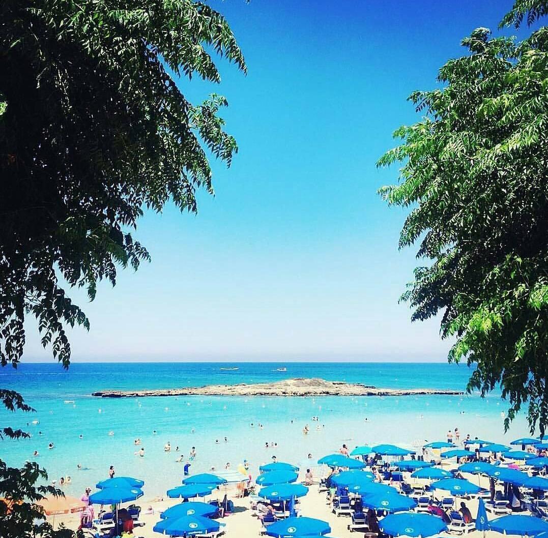Europe beach in cyprus