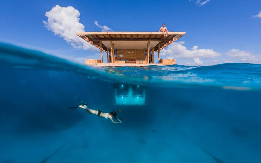The Manta Resort Found On Pemba Island In Zanzibar Is Coolest Hotel I Ve Ever Seen Underwater Room Features A Bedroom That S Completely Submerged
