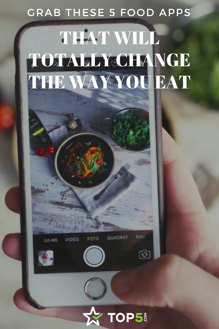food apps Pinterest
