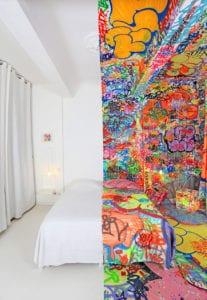 Half Graffiti Room Hotel Cargo Collective