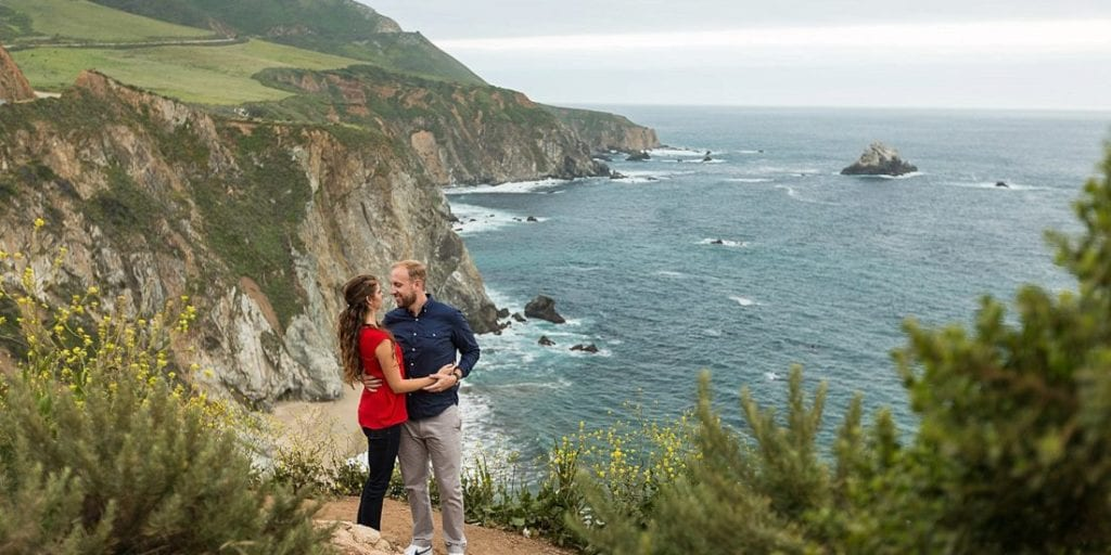 Honey Moon Destinations Big Sur