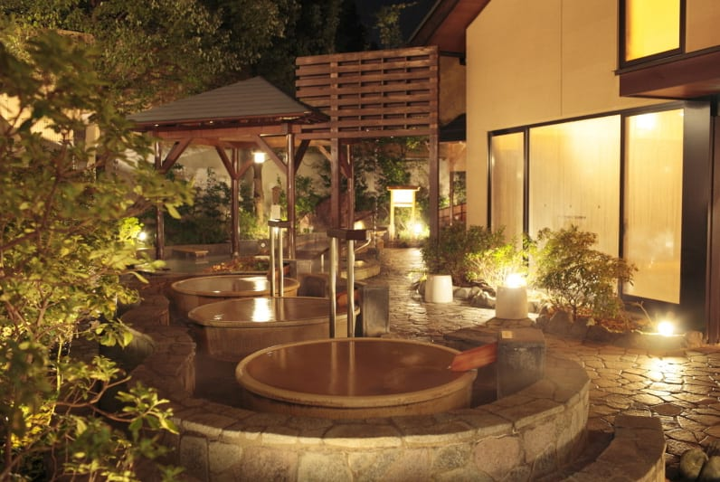 Japanese Hot Springs Tokyo Saya