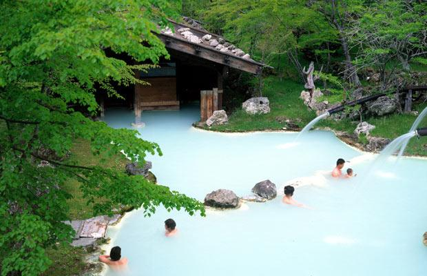 Japanese HotSprings Shirahone Onsen