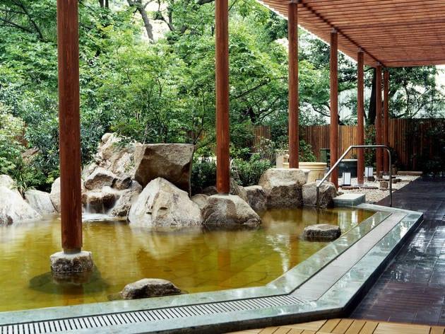 Japanese Hot Springs Tokyo Niwa No Yu