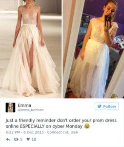 internet prom dress white