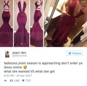internet prom dress burgundy