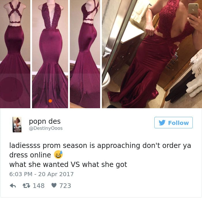 internet prom dress burgundy