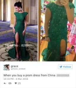 internet prom dress
