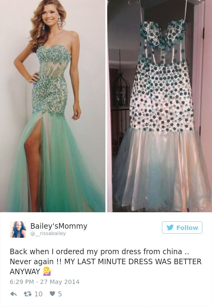 internet prom dress green