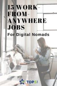 jobs for Digital Nomads Pinterest
