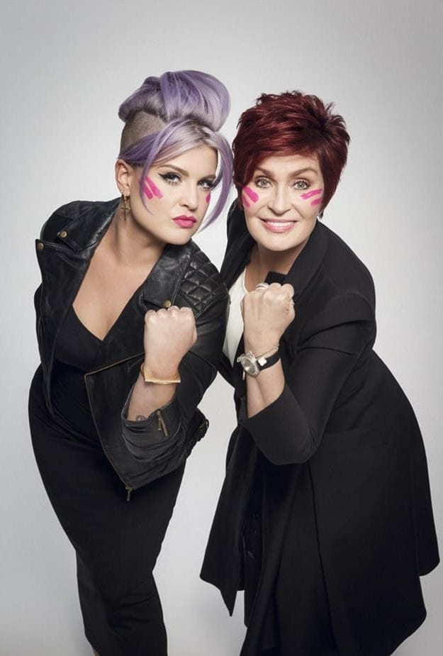 kelly and sharon osbourne celebrity mother and daughter