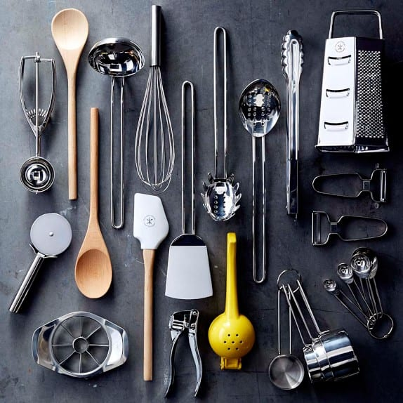 Here are the 30 Tools You Need for a Fully Stocked Kitchen