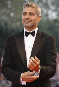 male actors over 40 george clooney