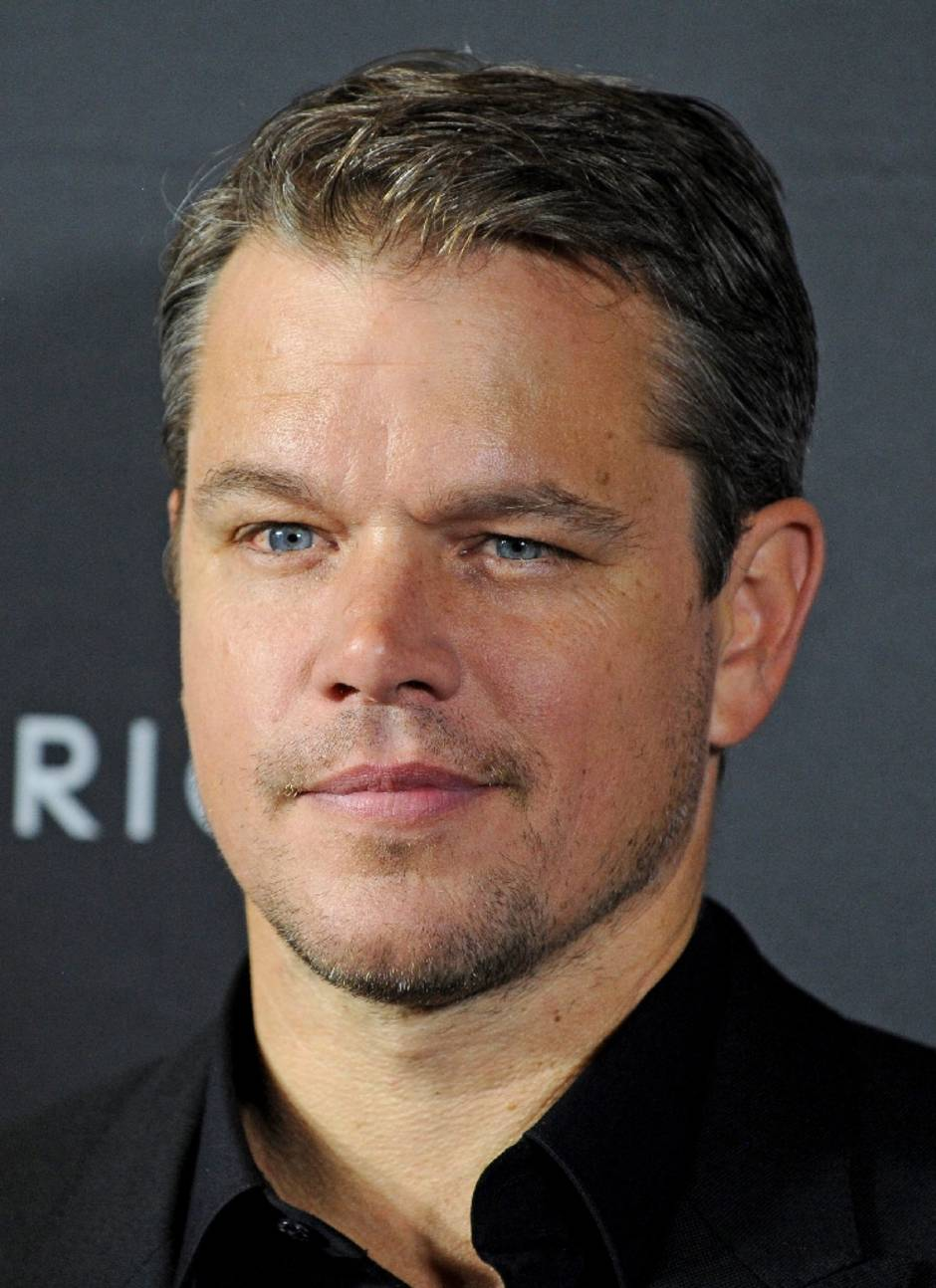 male actors over 40 Matt Damon