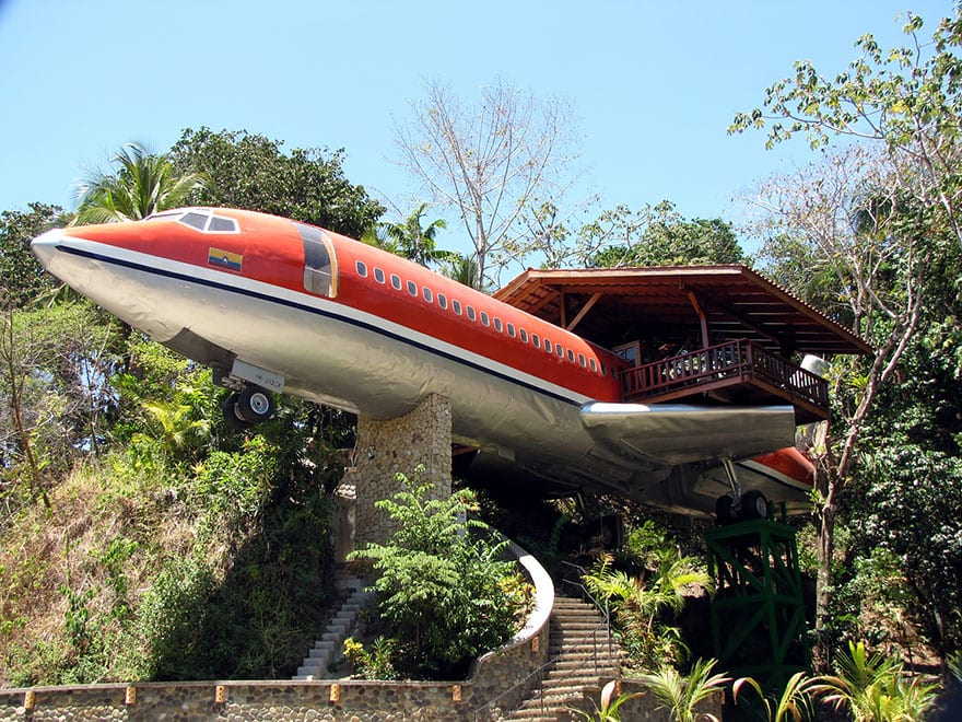 hotels Plane Hotel Costa Rica