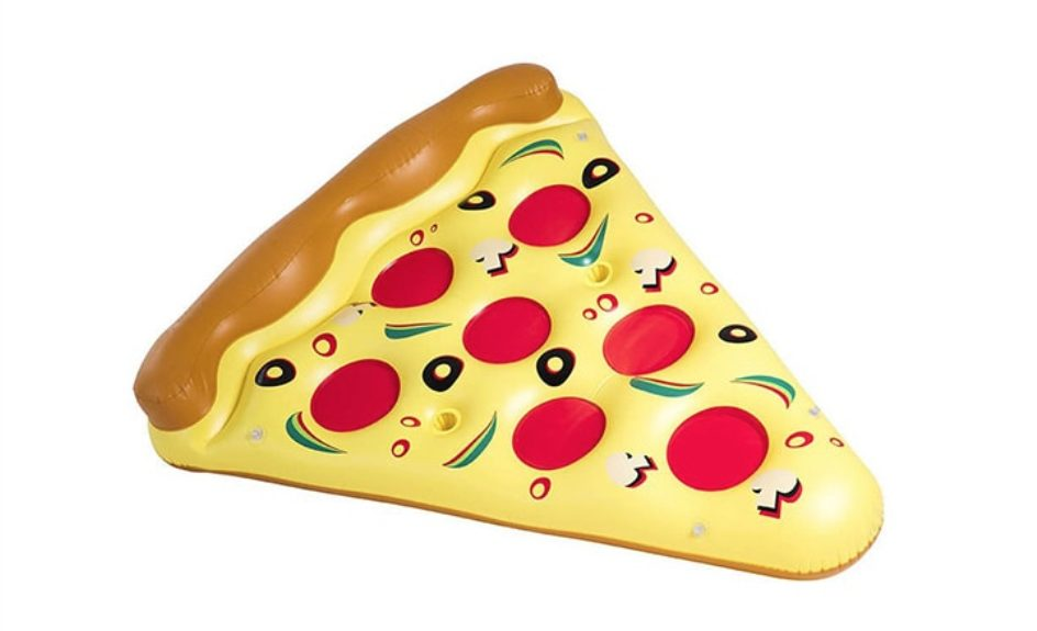pool floats - Pizza