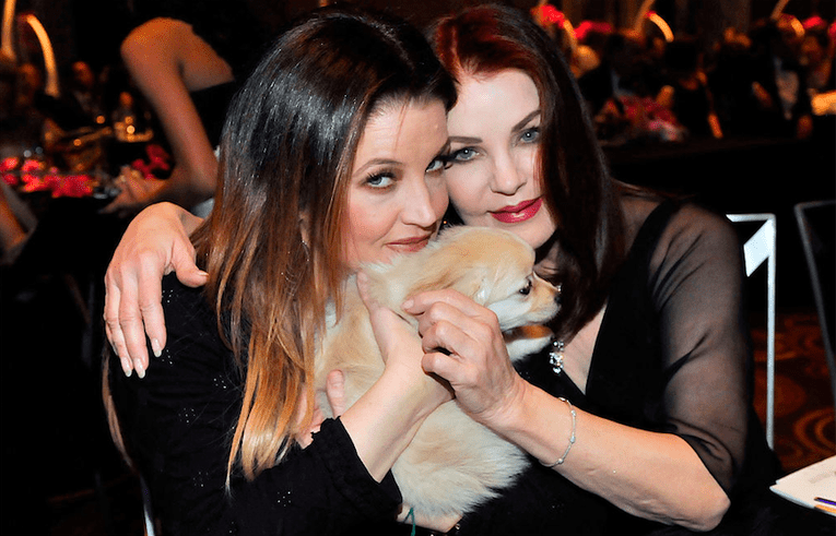priscilla and lisa marie presley celebrity mother and daughter