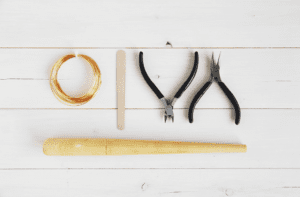 DIY Jewelry twisted knot wire rings