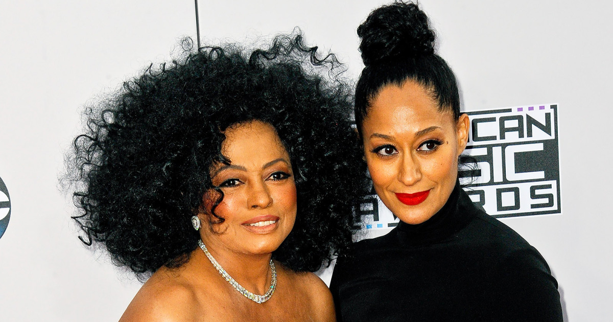 tracee ellis ross and diana ross celebrity mother and daughter