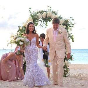 Wedding Dress Danielle Staub