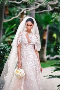 Wedding Dress Chanel Iman
